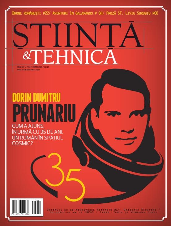 Coperta Știință&Tehnică, nr. 56, mai 2016
