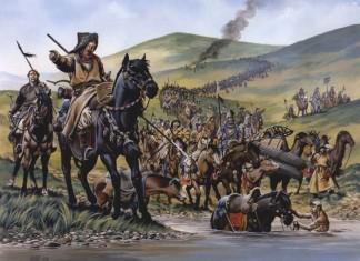 retragerea mongolă