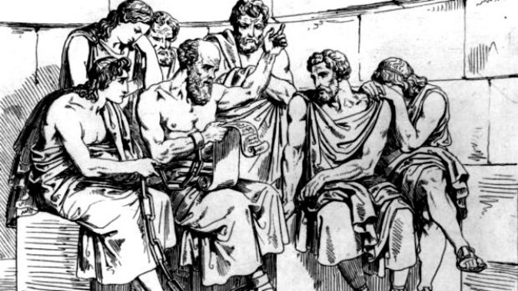 socrates-teaching