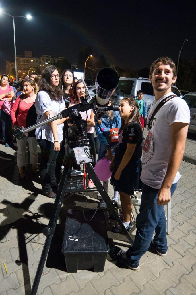 Observatii astronomice la ASTROFEST