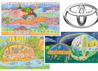 toyota dream art car contest