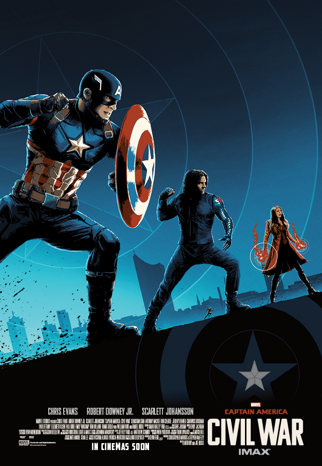 Captain America Poster (1)