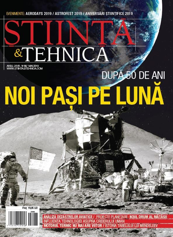Coperta Stiinta&Tehnica mai 2019