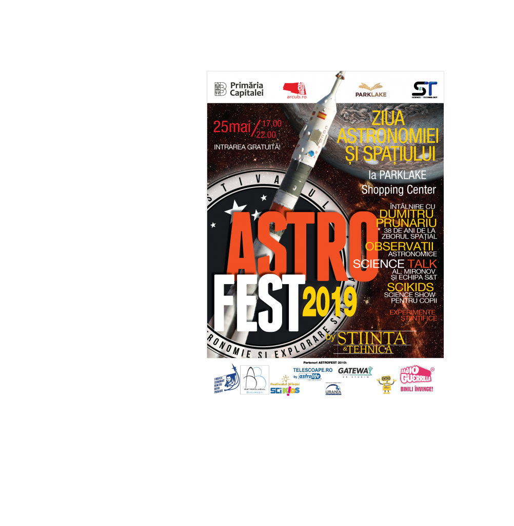 ASTROFEST 25 mai 2019 ParkLake Shopping Center