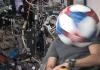 Mingi de fotbal testate de astronauti in spatiu