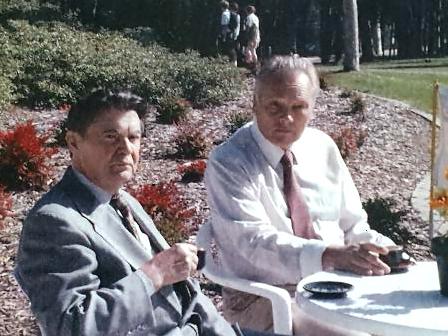 George Emil Palade si Radu Iftimovici