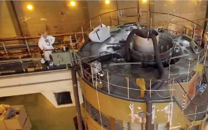 Dezafectarea reactorului de la Măgurele