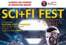 Afis Sci+Fi Fest 2021 Piatra Neamt